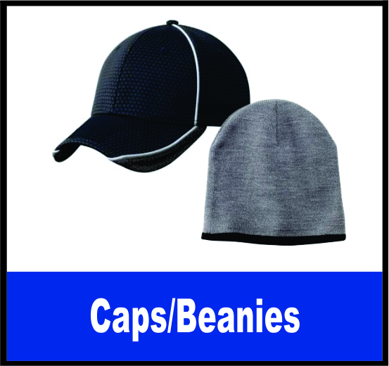 Caps, Beanie and Visor Selections