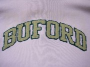 Buford distressed felt and twill